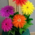 Virágkötészeti praktika – virágcsokor vázában