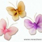 Harisnya-pillangó készítése 13+1 lépésben