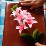 Lepkeorchidea készítése video-segédlettel (II. rész) – Levelek, gumók és összeállítás