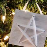Karácsonyi csillagdísz