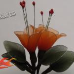 A trombitafolyondár virága