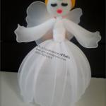 Aranyhajú angyal harisnyából