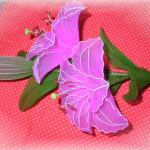 Liliom harisnyavirág készítése