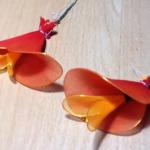 Egyszerű piros papagájvirág