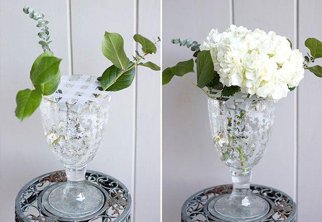 virág rendezése vázában