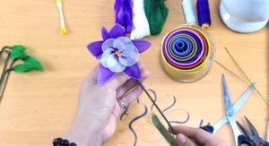 harangláb virág harisnyavirág