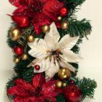 Különleges karácsonyi asztaldísz – maradék anyagokból