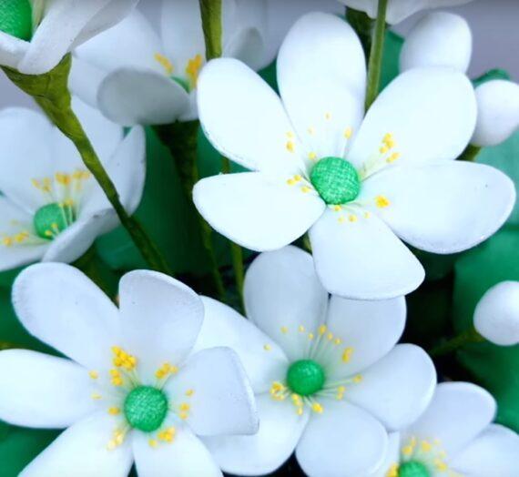 Egyszerű virág 4 lépésben