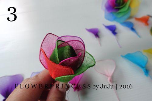 rózsa maradék harisnyából