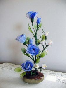 kék rózsa harisnyavirág