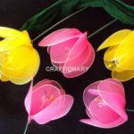 Hogyan készítsünk egyszerű tulipánt?
