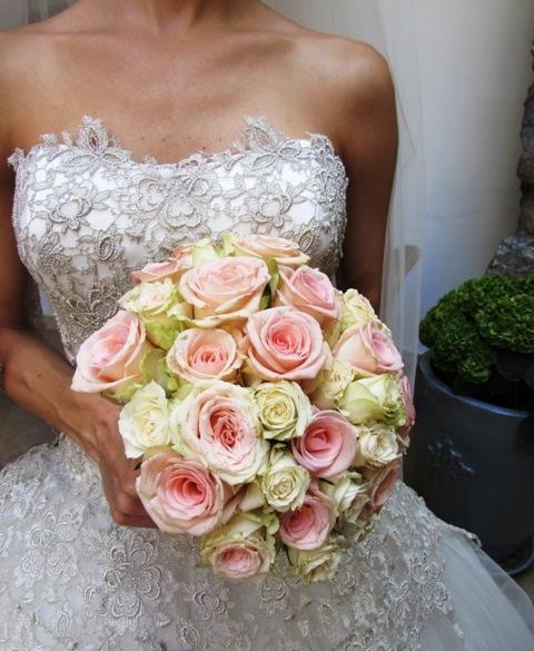 harisnyavirág esküvői csokor 0