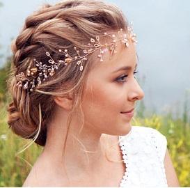 esküvő tiara 0