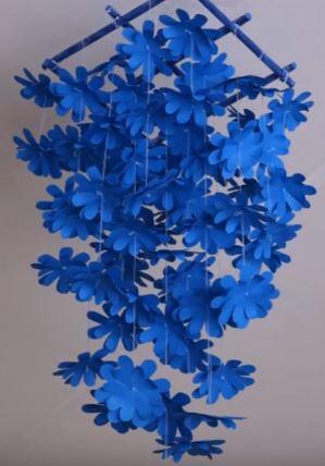 virágos függődísz 1