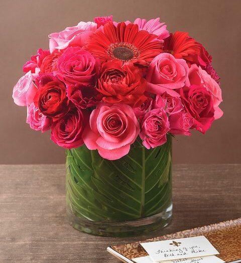 Ma pinkben tündököl minden virág