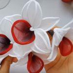 Orchidea zsenília dróttal