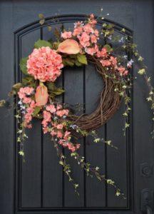 őszi ajtódísz