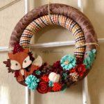 Őszi dekoráció az ajtódra